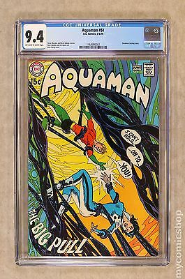 Aquaman (1962 1st Series) #51 CGC 9.4 1464900003