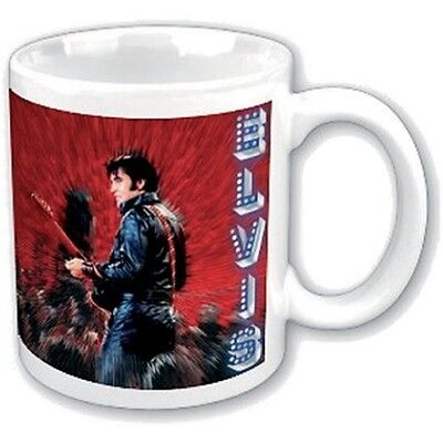 Elvis Presley - Mug Shine - Boxed Official King White Coffee Fan Gift Tea Cup