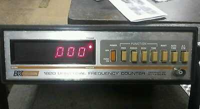 BK Precision 1820 - Universal Frequency Counter (Tested Good)