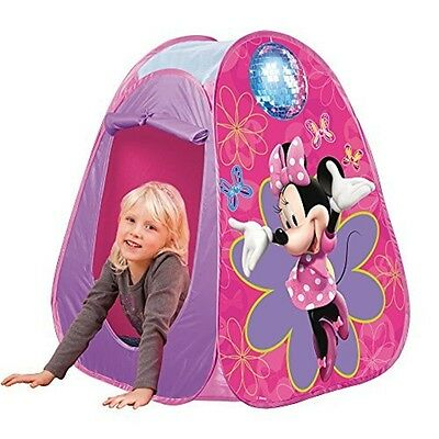 John Gmbh Disney Minne Mouse Pop-up Play Tent (pink) - Pink Popup