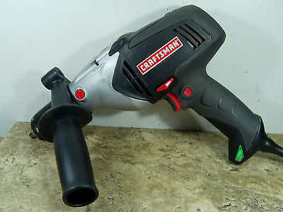 "Pre-owned & Tested Craftsman 315.101370 1/2"" VSR Corded Hammer Drill"