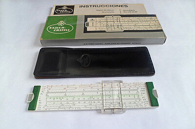 BRAND NEW!! German Faber Castell  63/83 Slide Rule  with box - Unused! Old Stock