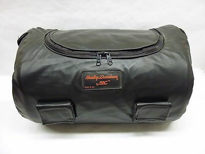 HARLEY DAVIDSON LEATHER LUGGAGE RACK BAG by SAC
