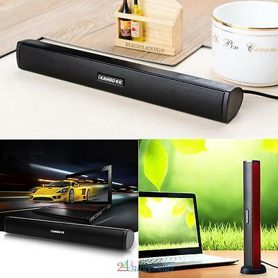 Mini USB laptop Ikanoo N12 Usb Laptop Portable stereo Speaker Audio Soundbar US