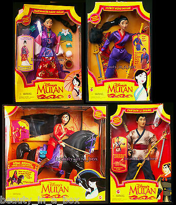 Riding Mulan Khan Secret Hero Captain Li Shang Matchmaker Disney Doll