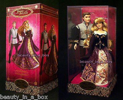 Aurora Prince Phillip Doll Set Disney Fairytale Designer Sleeping Beauty 3282 ""