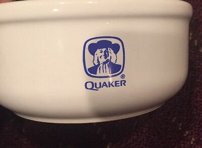 Quaker Oats Ceramic Oatmeal Bowl Advertising Early 1990s Waechtersbach