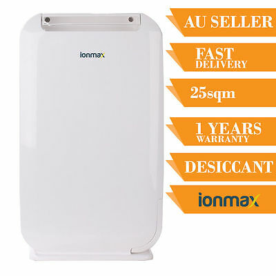 Ionmax ION610 Desiccant Dehumidifier Reduce Moisture Remove Mold Spots