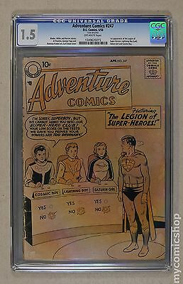 Adventure Comics (1938 1st Series) #247 CGC 1.5 1349635015
