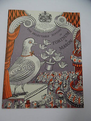 c.1957 The Delectable History of Fortnum & Mason illustrated by Edward Bawden VG