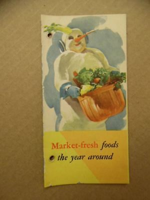 c.1946 Maytag Home Freezer Sales Catalog Brochure Vintage Original Newton Iowa