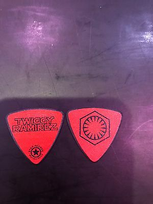 Twiggy Ramirez Limited First Order Red Guitar Pick