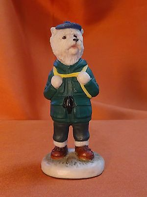 Westie, The Hiker, Country Companion series by Robert Harrop. Model CC25B