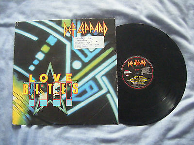 "Def Leppard - Love Bites 12"" Single"