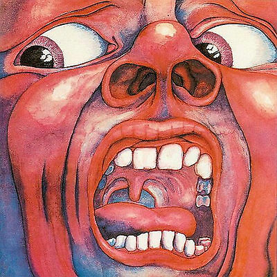 KING CRIMSON in the court of the crimson king 1969 polydor SPAIN MINT / VG