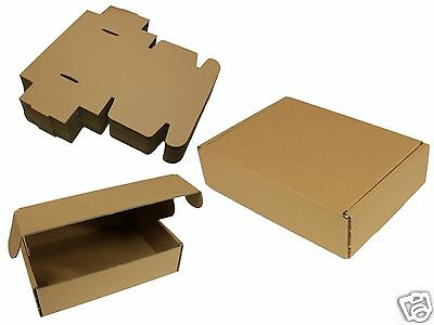 A5 Postal Mail Cardboard Boxes Small Carton Shipping Parcel C5 225 x 160 x 58mm