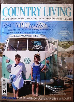 Country Living Magazine July 7/2017 ESCAPE to the sea LUNDY ISLAND Current Issue