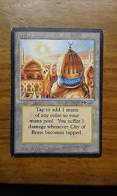 Mtg Arabian Nights City of Brass MP/HP