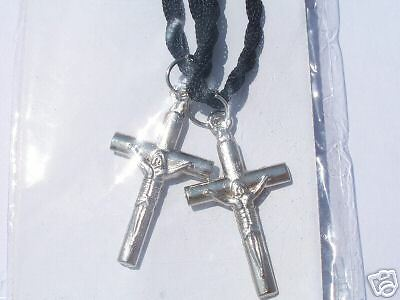 2 x CRUCIFIX ~  FRIENDSHIP  ~  NECKLACES   --- (GREAT_CHRISTMAS_GIFT)