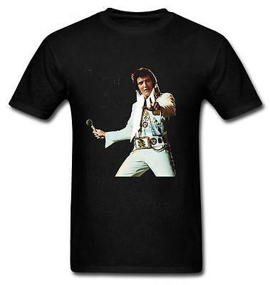 New Fashion Women/Men Elvis Presley Funny 3D Print Casual T-Shirt K2178