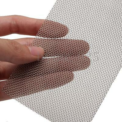 8cm x 15cm 20 Mesh Stainless Woven Wire Cloth Screen Filtration Filter Sheet