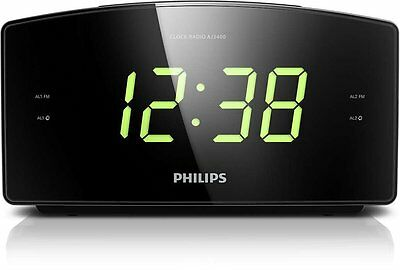 Philips AJ3400 Radio Sveglia Grande Display Digital UKW, Sleep Timer € 25 ,50