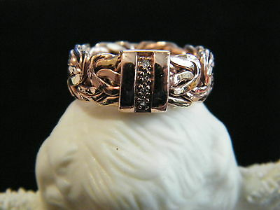 Rose Gold Wedding Anniversary Stacking Ring - Reduced