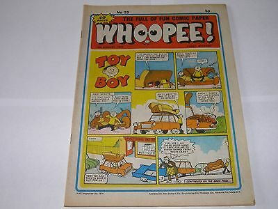 Whoopee No 23 - UK Comic 10 August 1974