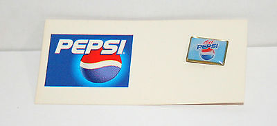 Vintage 2003 /2006 Diet Pepsi-Cola Pepsi Soda Ad Collectible Pin on Card New NOS