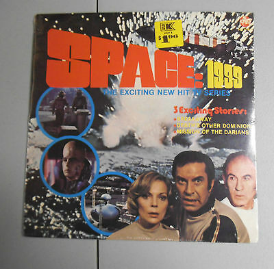 Rare Sealed Vinyl Album Space 1999 Original 1975 Power Records #8162 Mint Nos Nm