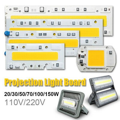 20W 30W 50W 70W 100W LED Projecteur Spot Floodlight COB Chip Lampe  Ampoule 220V