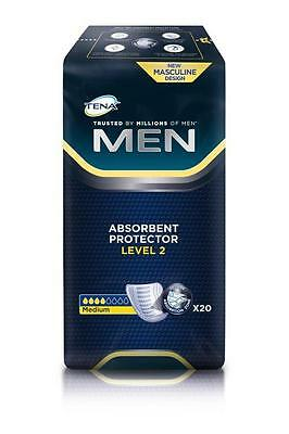 TENA Men Level 2 Einlagen 20St PZN: 10004884