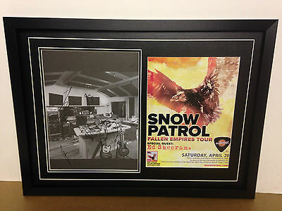 Snow Patrol Genuine Hand Signed/Autographed Photograph & COA