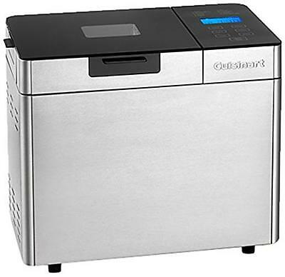 Cuisinart Bread Maker 600W Automatic Nut & Seed Dispenser Stainless Steel Grey