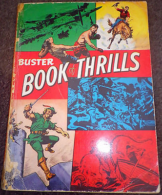 BUSTER BOOK OF THRILLS Annual 1962