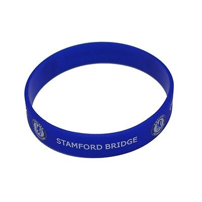 Silicone Wristband - Chelsea F.c - Official Football Crest Rubber Licensed