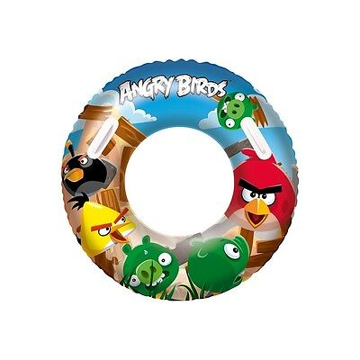 """36"""" Angry Birds Swim Ring - Bestway Inflatable Swimming Pool 36 Tube"""