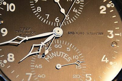 BREITLING aircraft cockpit clock Borduhr from USAF Boeing 707 or 727