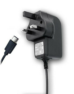 3rd Party USB Type-C UK Mains Charger for Nintendo Switch