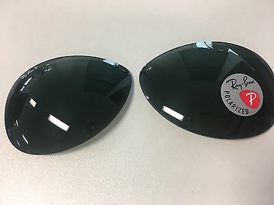 Genuine Ray Ban  RB3509 size 66 Plolarized Replacement Lenses