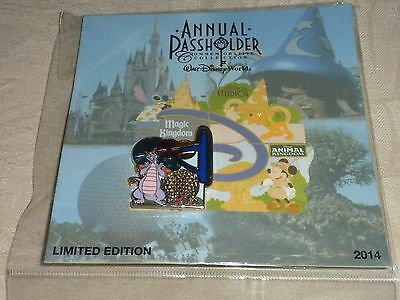 Disney Pin Figment At Epcot Annual Passholder Park Series Authentic Le2500 New