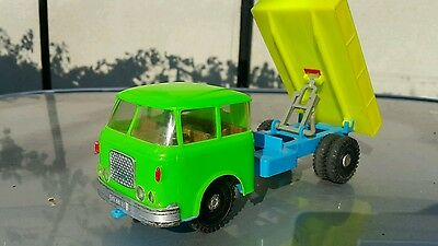 VINTAGE TOY TRUCK SKODA FRICTION TIN AND PLASTIC MODEL  MADE IN Czech Republic