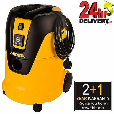 Mirka Dust Extractor 1025 L GB 230V Suitable for Wet & Dry Application
