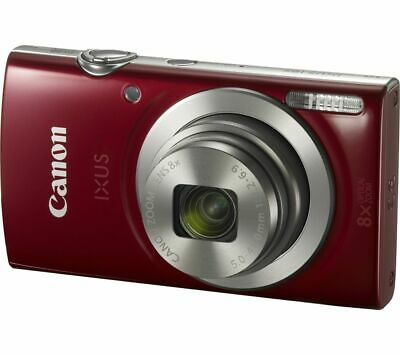 CANON IXUS 185 Compact Camera - Red - Currys