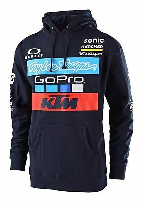 2017 Troy Lee Designs Ktm Team Pullover Hoodie Sweatshirt 73150537X Go Pro Fmf