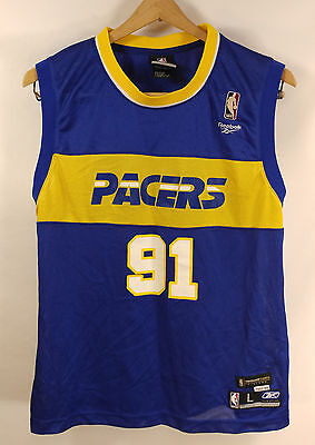 cd111e74ae7 Ron Artest 91 Indiana Pacers NBA Authentic Jersey Reebok Metta World Peace  Youth