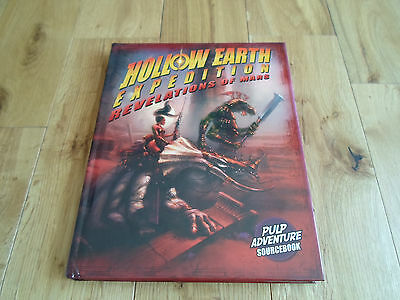 Hollow Earth Roleplaying Game Revelations of Mars Supplement (NEW/MINT)