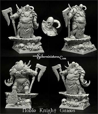 Scibor Monstrous Miniatures Sci-Fi Mini 28mm Rotten Lord (Resculpt) Pack MINT