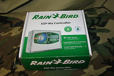 Rain Bird ESP-Me Irrigation Controller 4+6 Stations Modules Included NEW