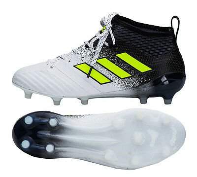 best website 333a2 4176b Adidas ACE 17.1 FG - S77035 Soccer Football Cleats Shoes Boots White Black